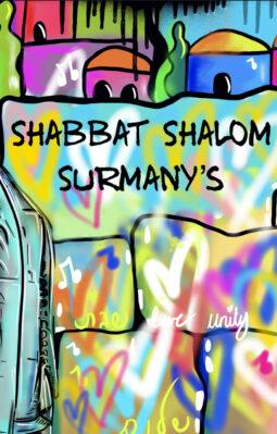 Custom names on Challah Covers