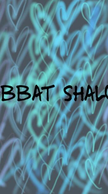 Challah cover: Blue silver graffiti