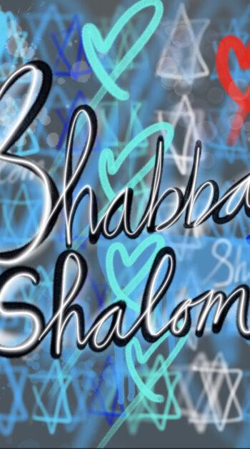Challah cover: Blue cool graffiti