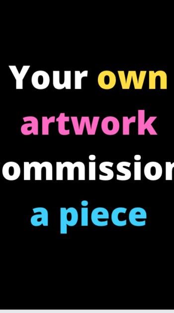 Commission Artwork. 80cm by 60cm